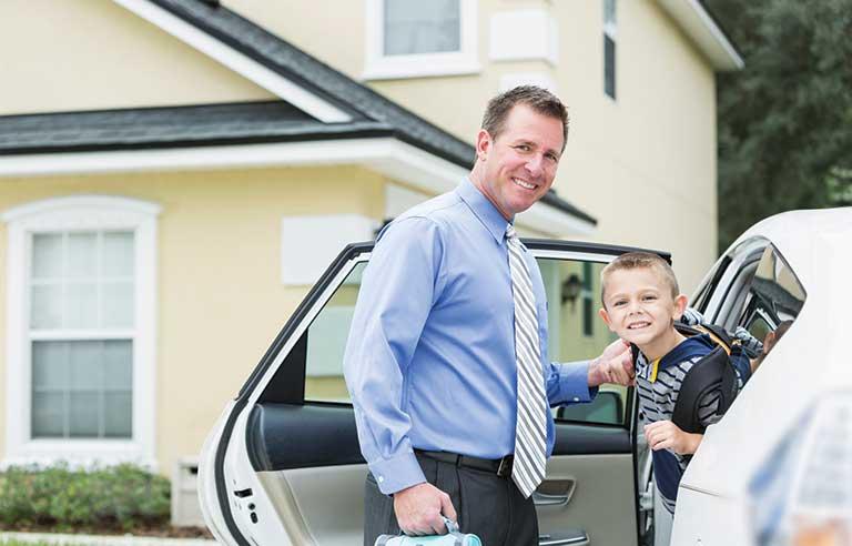 личный водитель для ребенка